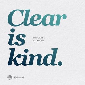 Brene Brown - Clear is Kind