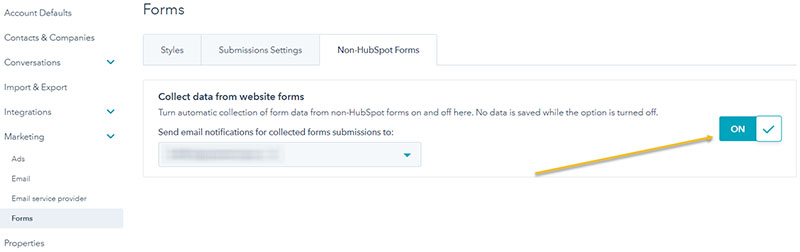 collect-form-data-non-hubspot