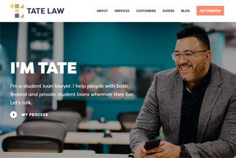 Web design for lawyers